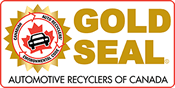 Automotive Recyclers of Canada Gold Seal Logo